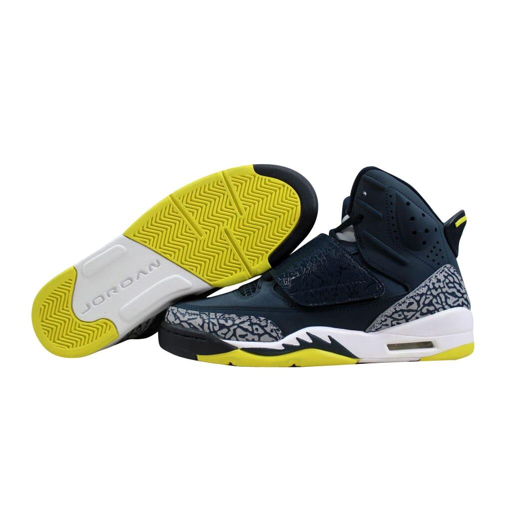 16acae57e044f2 Nike Air Jordan Son Of Mars Armory Navy Electrolime-White 512246-405 ...