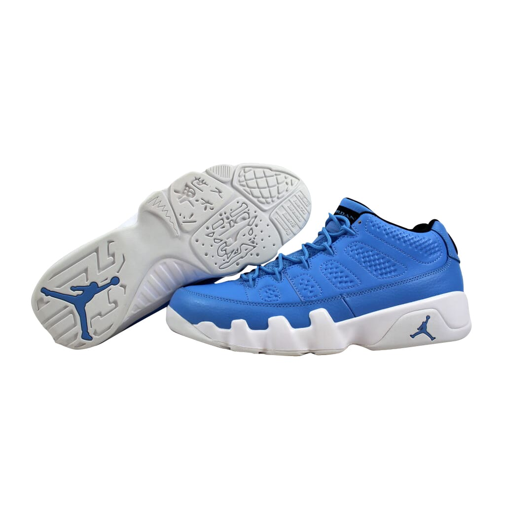 Nike Air Jordan IX 9 Retro Low University Blue Wht Pantone 832822 ... 5b4d729f8441