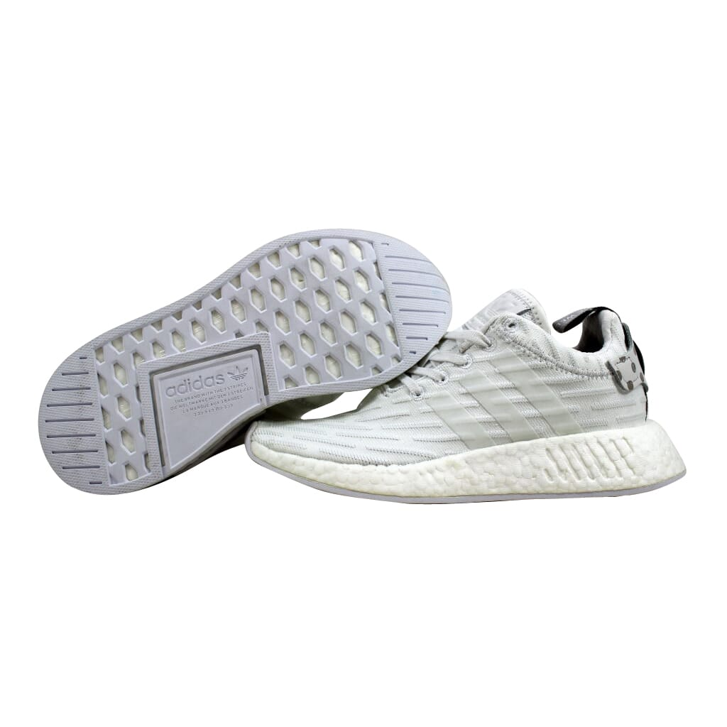8370f11f2a5c2 Adidas NMD R2 W Clear Granite Vintage White BY2245 Women s SZ 5.5