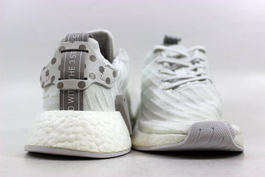 ab6f9ecee6cf4 Adidas NMD R2 W Clear Granite Vintage White BY2245 Women s SZ 5.5