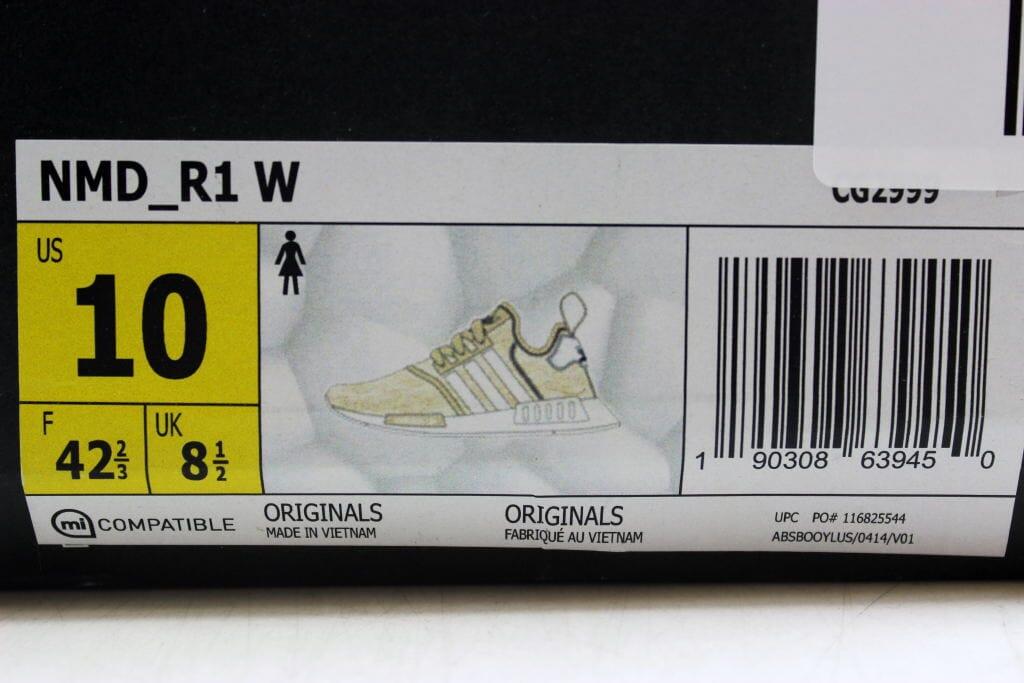 d4765e6cba697 Adidas NMD R1 W Cream White CG2999 Women s SZ 10 190308639450