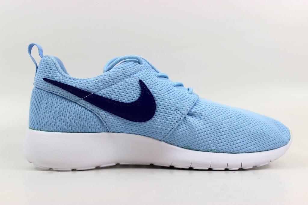 785093e15c108 Nike Roshe One Bluecap Deep Royal Blue-White 599729-410 Grade-School ...