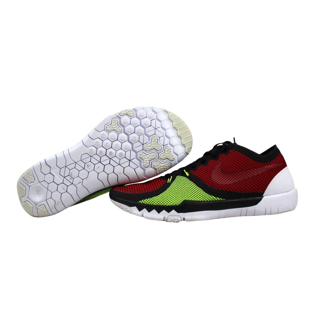 7b04f8fbda8 Nike Free Trainer 3.0 V4 Black Red-University Red-Volt 749361-066 ...
