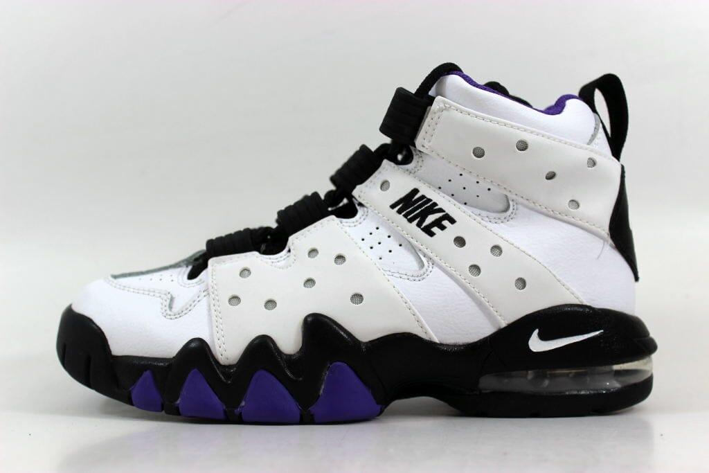 Nike Air Max CB  94 White Black-Pure Purple 309560-105 Grade-School SZ 4Y 6511535c0f9