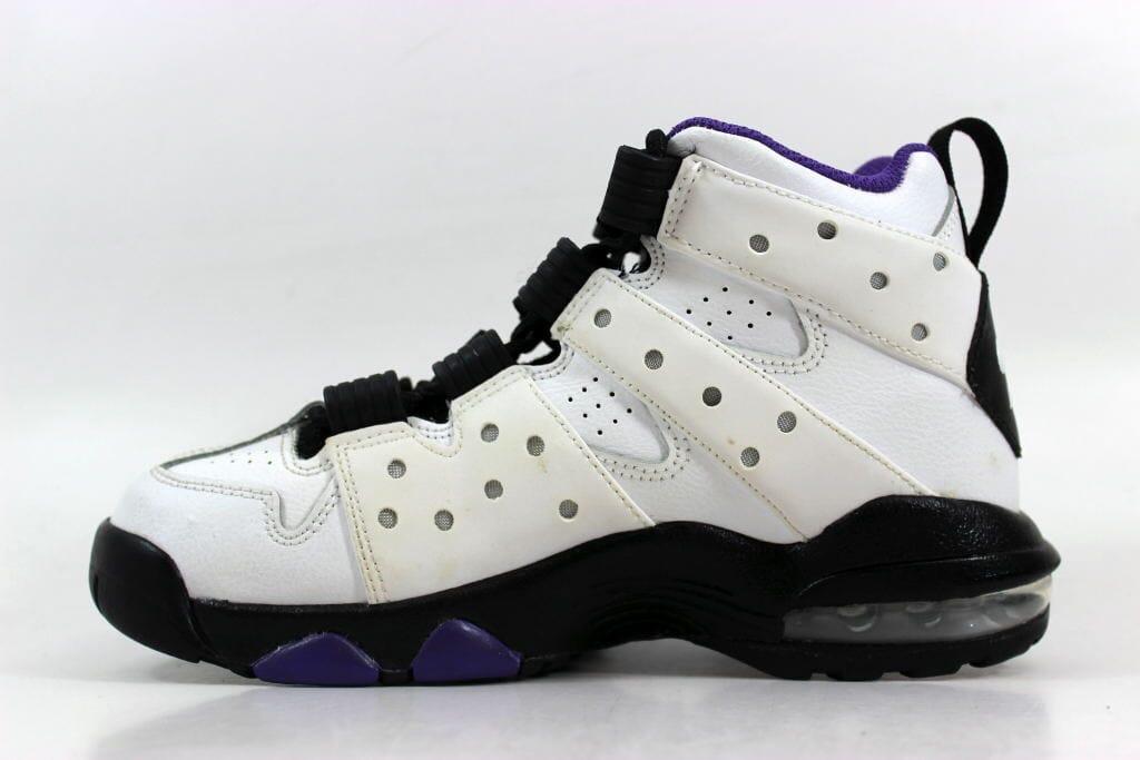 Nike Air Max CB  94 White Black-Pure Purple 309560-105 Grade-School ... 39d25cc4e82