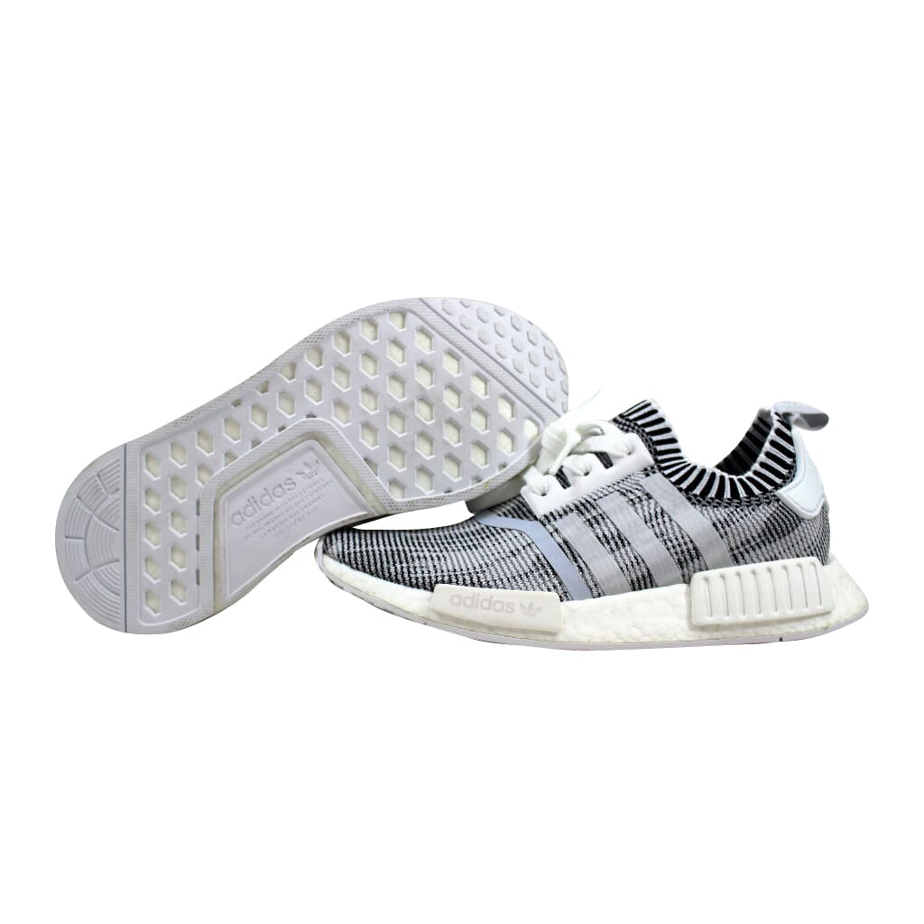 171e800ea0259 Adidas NMD R1 Primeknit White Grey-Black Oreo BY1911 Men s SZ 5.5 ...