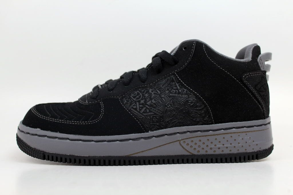 4cc141ecfd66 Nike AJF 20 Low Air Jordan Force Black Light Graphite-White 332131-001  Grade-School Size 5.5Y