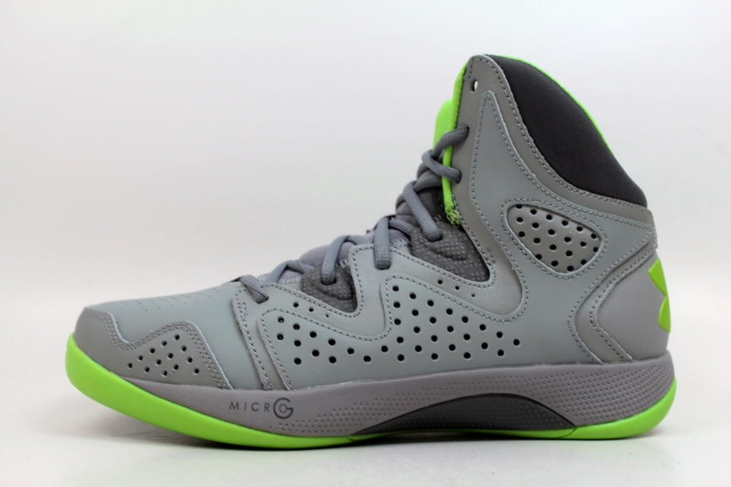 fbe34ca3befd Under Armour UA Micro G Torch 2 Steel Black-Green 1238926-035 Men s SZ 10  11 11 of 12 See More