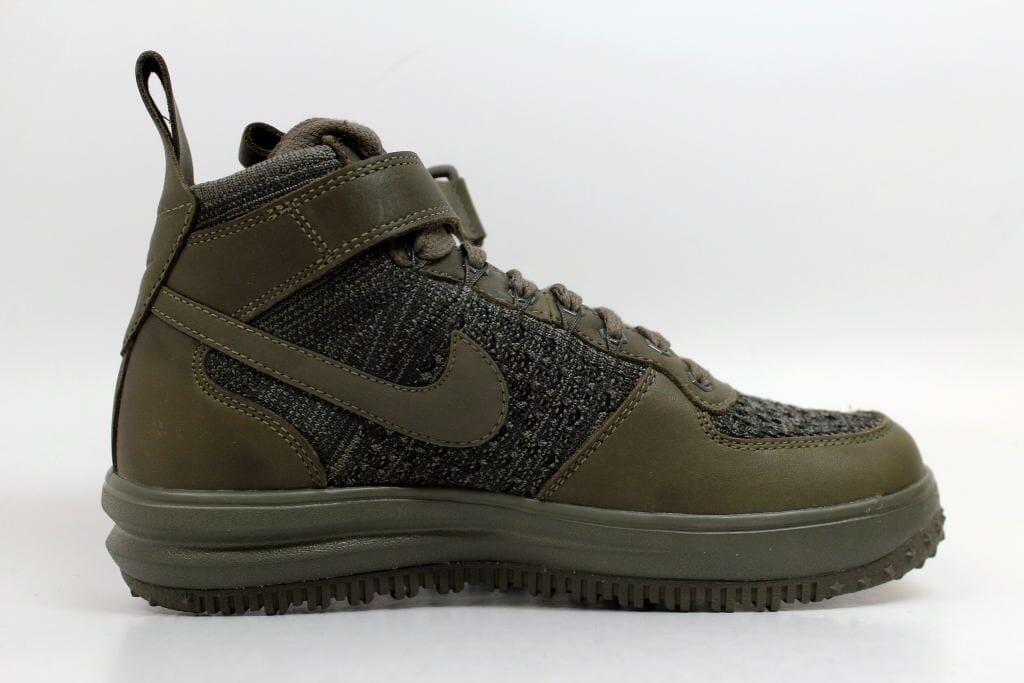 Nike w lf1 flyknit workboot medio olive / 7,5 medio olive 860558-200 donne sz 7,5 / 9a279a