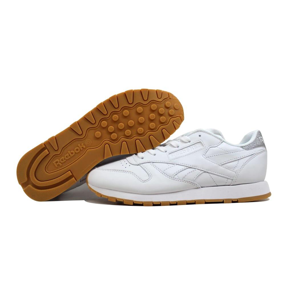 Reebok Classic Leather Met Diamon White/Gum BD4423 Women's