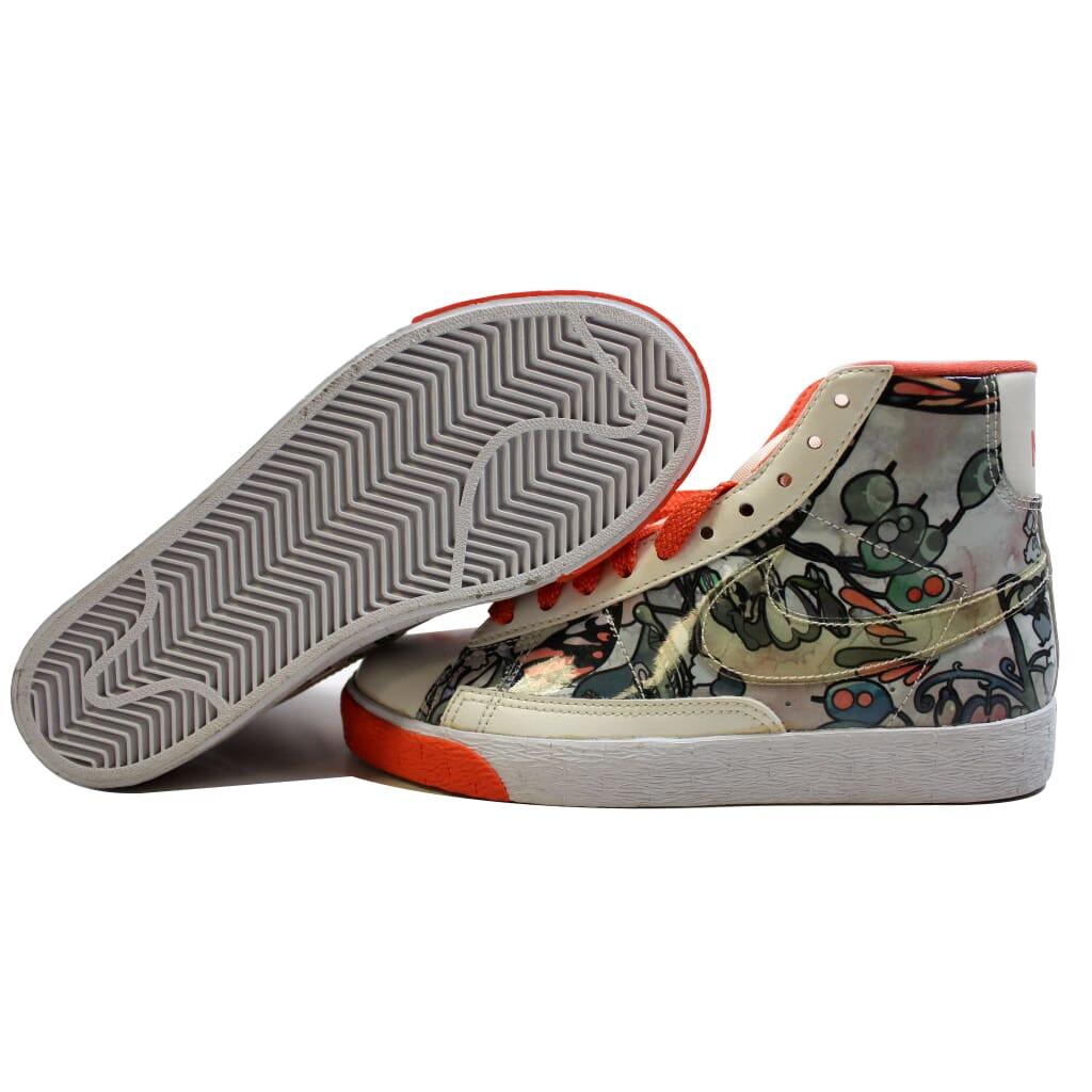 Nike BLAZER blanco Alto Vela/Velas Brillante Coral- blanco BLAZER o 317808-115 para mujer c4d998