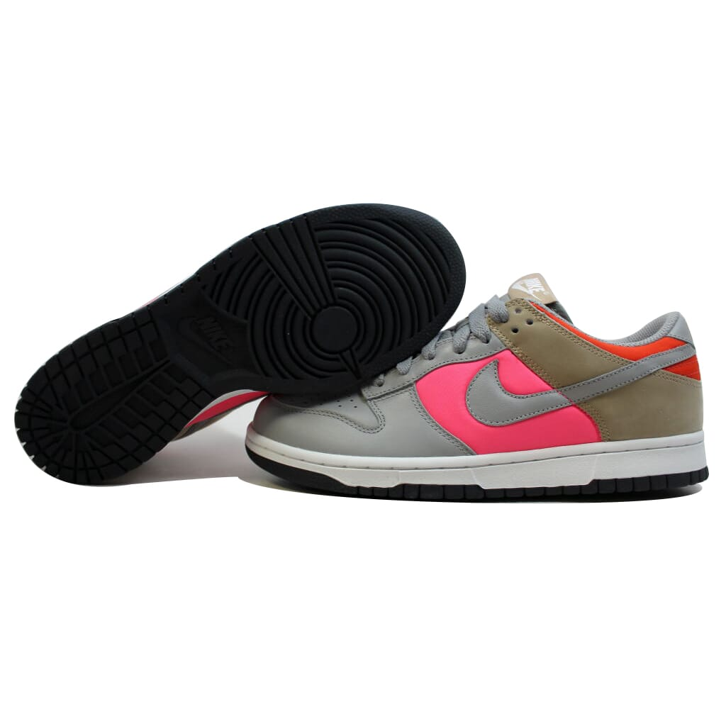 Nike Dunk Low Medium Grey/Medium Grey-Laser Pink-Tweed 317813-001 Womens SZ 11.5