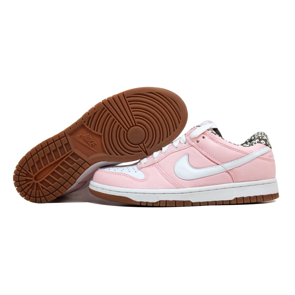 Nike Dunk Low CL Mujer's Light Coral/Blanco-Olive Khaki 317815-811 Mujer's CL SZ 8.5 47cdd0