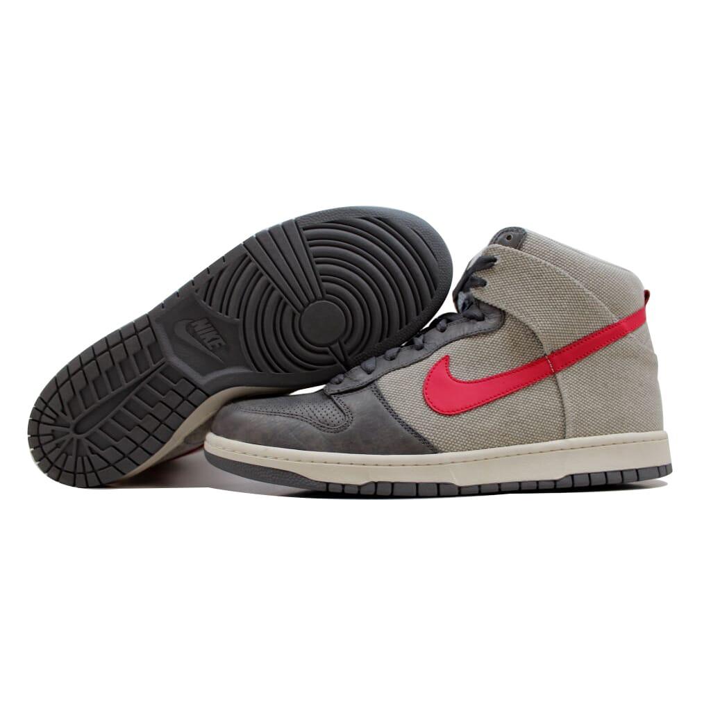 Nike Dunk High Premium Cool Grey/Berry-Neutral Grey 317892-061 Men's SZ 14