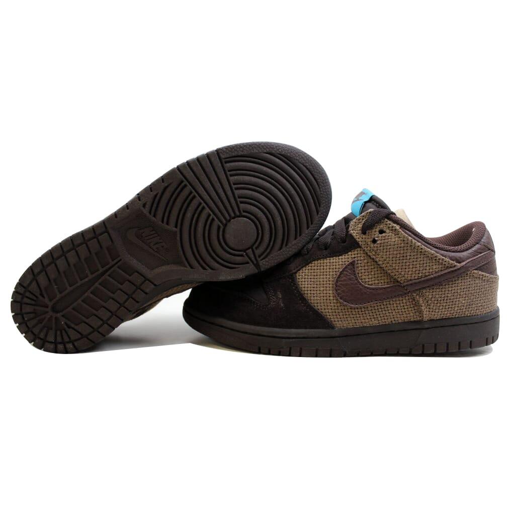 Nike Dunk Low CL Tar/Boulder-Cocoa-Vivid Blue 318020-021 Men's SZ 5.5