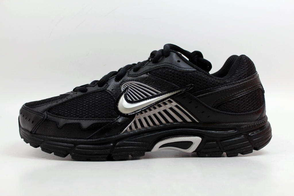 aa86d6d993889 Nike Dart VII 7 Black Metallic Silver-Black 354491-002 Men s SZ 8 ...