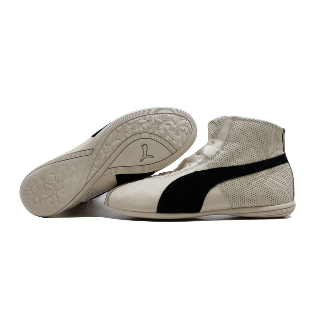 Puma Eskiva Mid Whisper White/Black 361010 02 Women's SZ 10