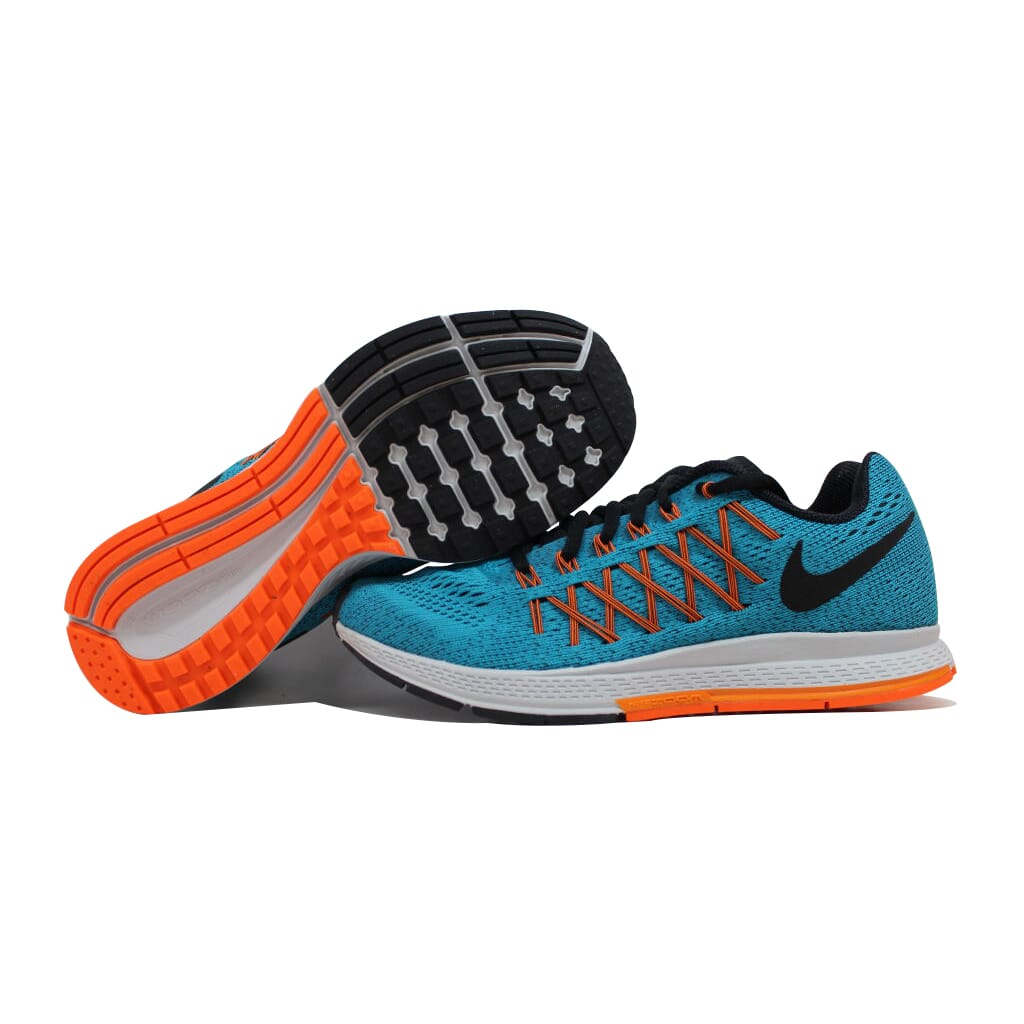 premium selection f494f aef39 NIKE AIR ZOOM Pegasus 32 Blue Lagoon/Black-Citrus-Total Orange 749340-400  SZ 6
