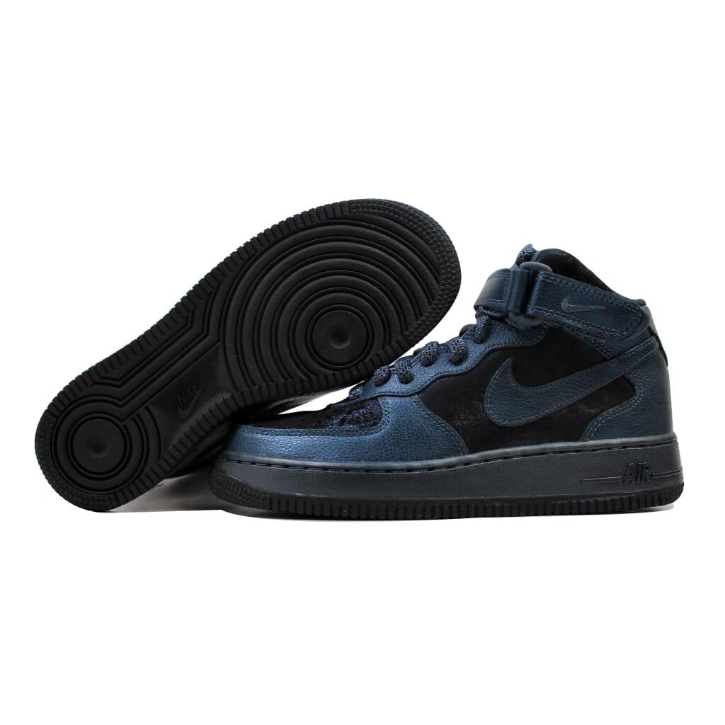 Nike Air Force Premium 1'07 Mid Premium Force MTLLC Armería Navy 805292-900 para mujer 37ede2