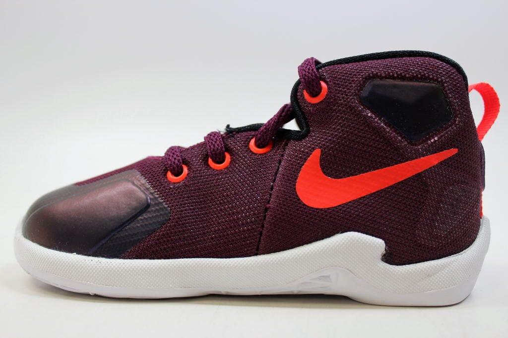 6d5eea4ff8e4 Nike Lebron XIII 13 Mulberry Black-Pure Platinum-Purple 808711-500 ...