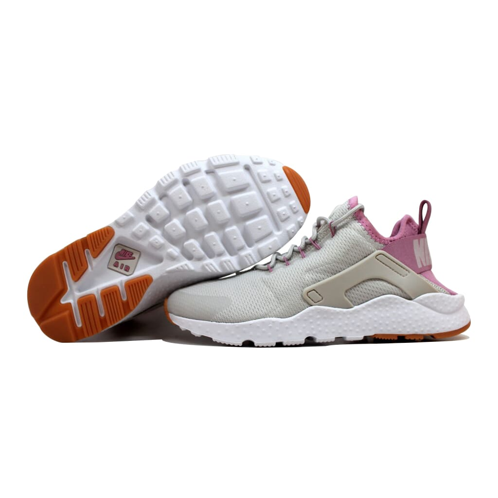 a6c1e11de5e6 Nike Air Huarache Run Ultra Light Bone Orchid-Gum Yellow 819151-009 Women s