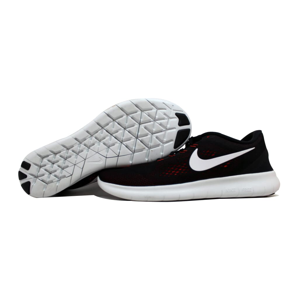 promo code 5f478 42bf2 Nike Free Run BlackOff White-Total Crimson-Night Maroon 831508-008