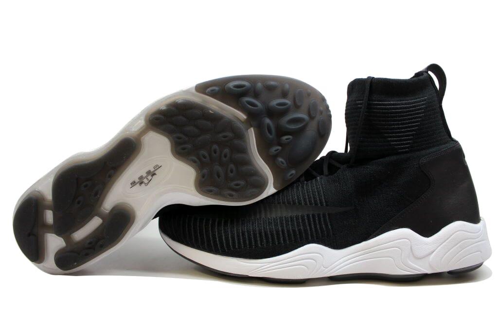 Nike Zoom Mercurial XI Flyknit Black/Black-White-Anthracite 844626-001 SZ 10