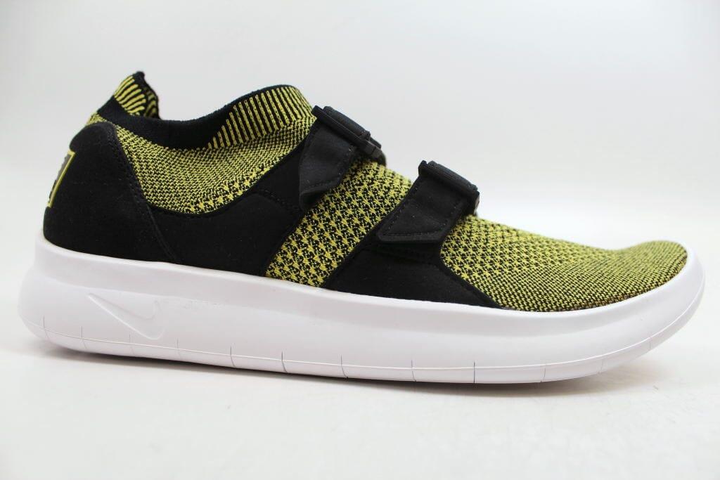 finest selection 65e77 8b892 Nike Air Sockracer Flyknit Yellow Strike Yellow Strike 898022-700 Men s  Size 9