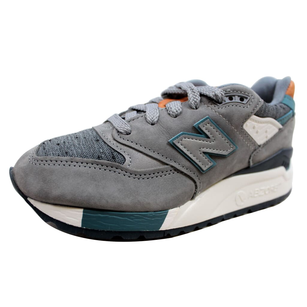 meet 30ae3 f4c8e Details about New Balance 998 Grey/Blue-Tan Made In USA W998DTV Women's SZ 7