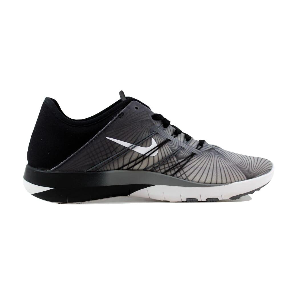 d7989f2ab93d1 Nike Free TR 6 Print Black White-Cool Grey 833424-005 Women s SZ 5.5 ...