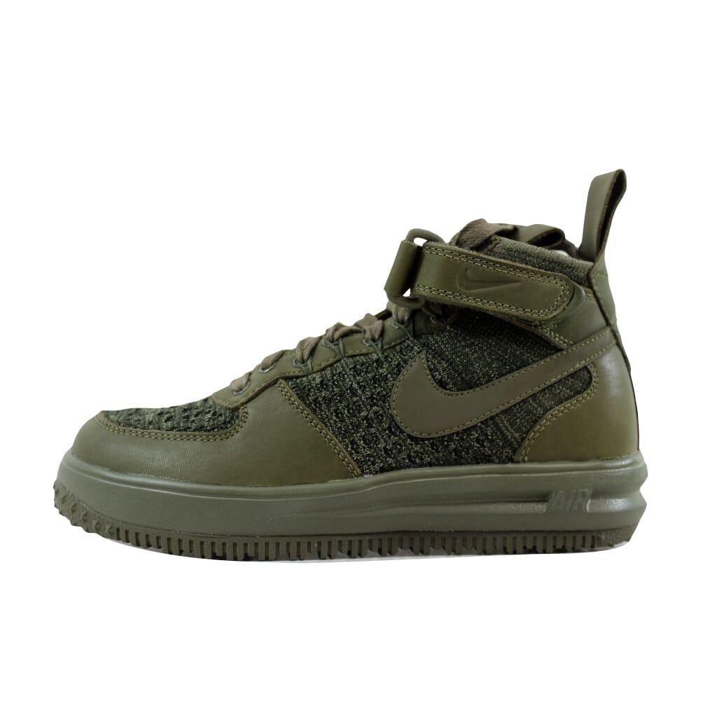 Nike W W W LF1 Flyknit Workboot Medium Olive Medium Olive 860558-200 Women's SZ 6.5 664540