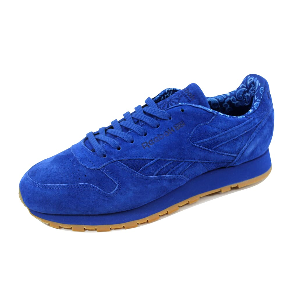 864a2734d086 Image is loading Reebok-Classic-Leather-TDC-Collegiate-Royal-White-Men-