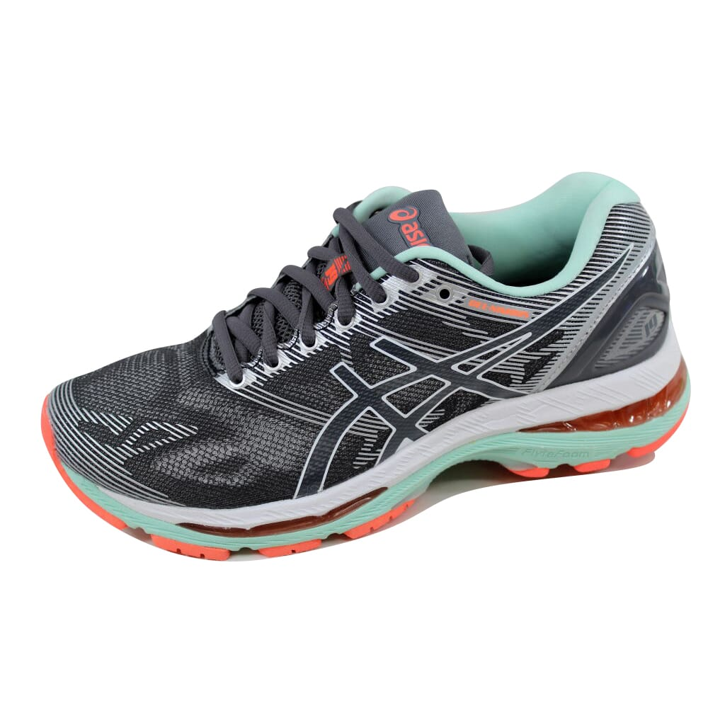 size 40 b463f 395e7 Details about Asics Gel Nimbus 19 Carbon/White-Flash Coral T750N 9701  Women's Size 5.5