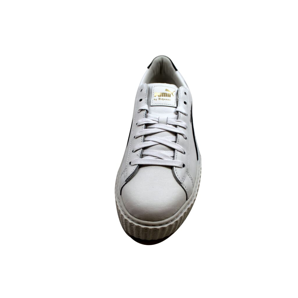 3160c30683f Puma Creeper White Leather Puma X Fenty Rihanna 364640 01 Men s SZ ...