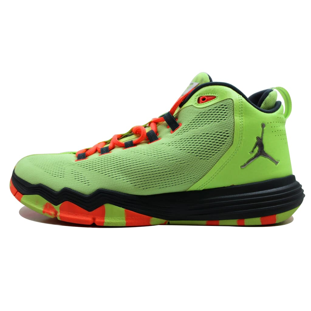8946f7e9f2565d Nike Air Jordan CP3 IX 9 AE Ghost Green Silver Chris Paul 833909-303 ...