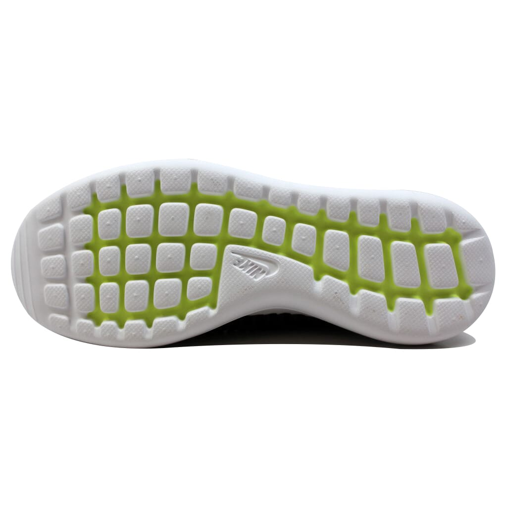 Nike-Roshe-Two-Flyknit-Black-Dark-Grey-White-Volt-844833-001-Men-039-s thumbnail 3