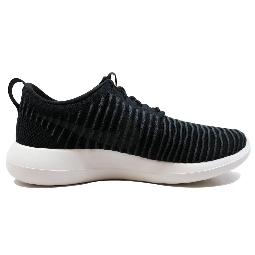 Nike-Roshe-Two-Flyknit-Black-Dark-Grey-White-Volt-844833-001-Men-039-s thumbnail 6