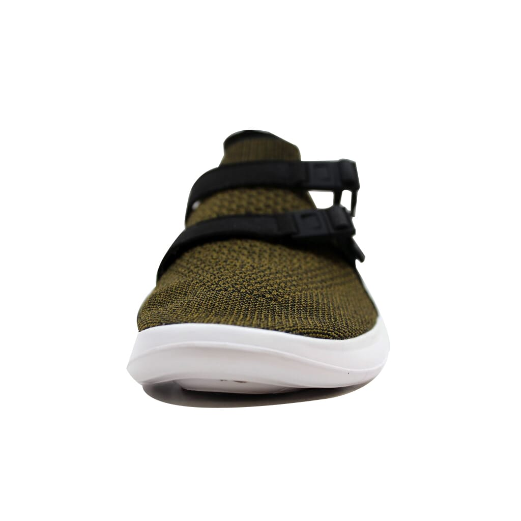 47071d13a4398 Nike Air Sockracer Flyknit Black Olive Flak-Black-White 898022-002 ...