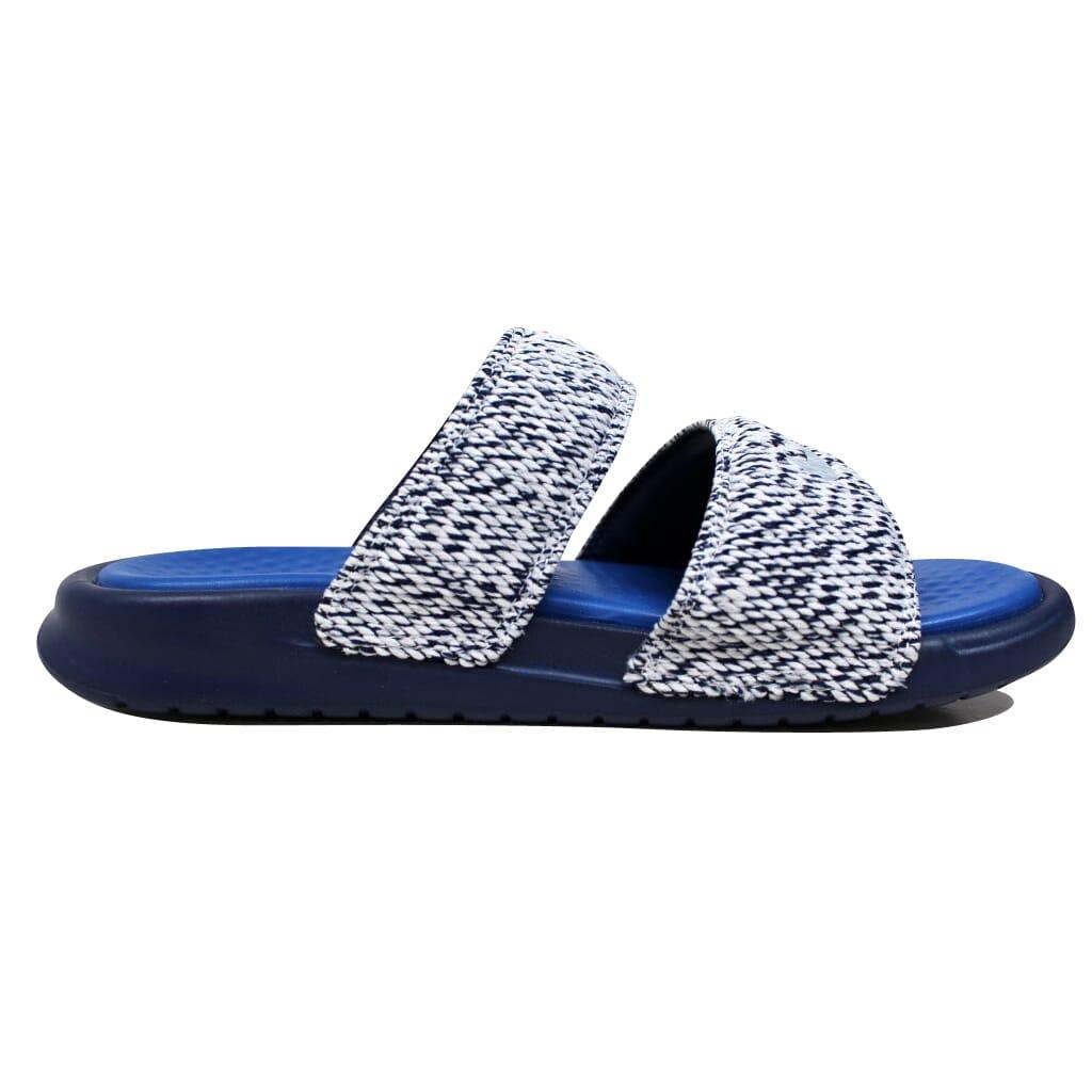 e1ab87b7701762 Nike Benassi Duo Ultra SLD Pigalle Blue  Royal-White Nike Lab 902783 ...