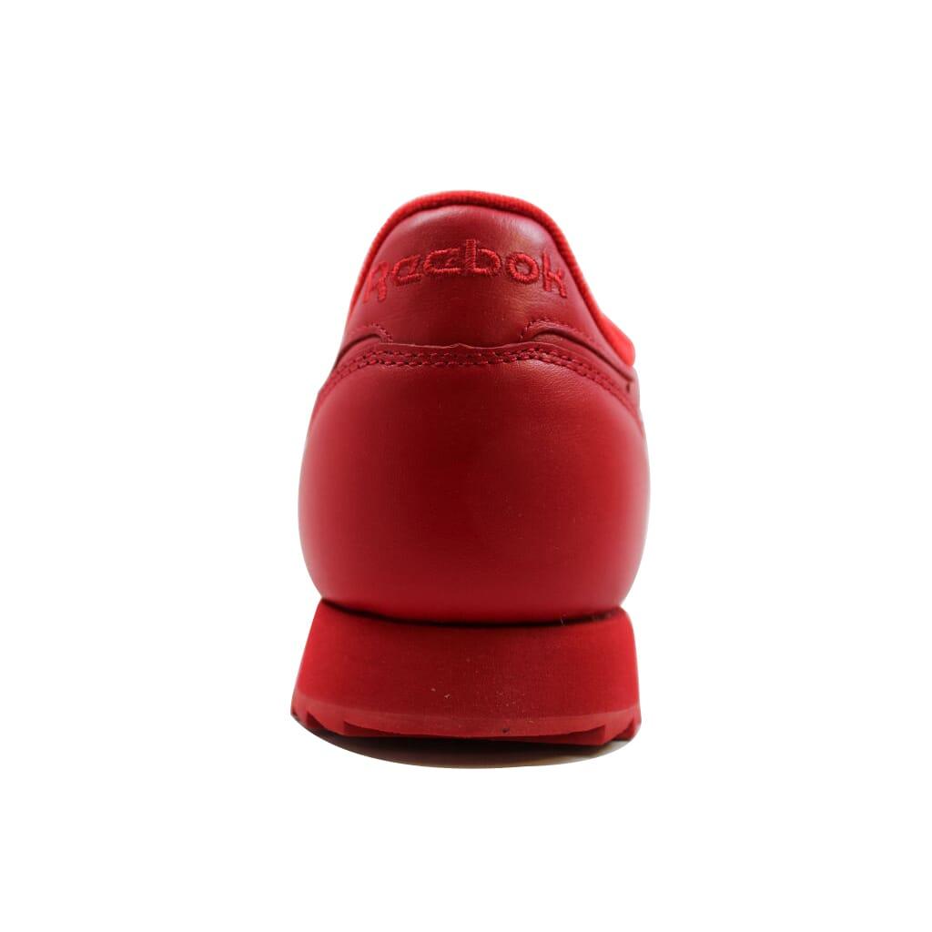 365487db0c7e Reebok Classic Leather Ripple Mono Scarlet Red AR2349 Men s SZ 5.5 ...