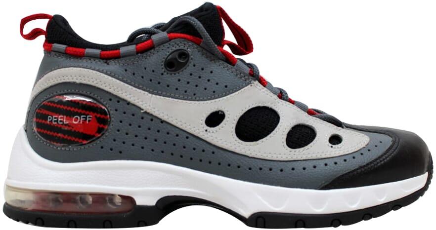 Details about Nike Air Sunder Max 06 Flint GreyVarsity Red Neutral Grey 314335 061 Mens SZ 10