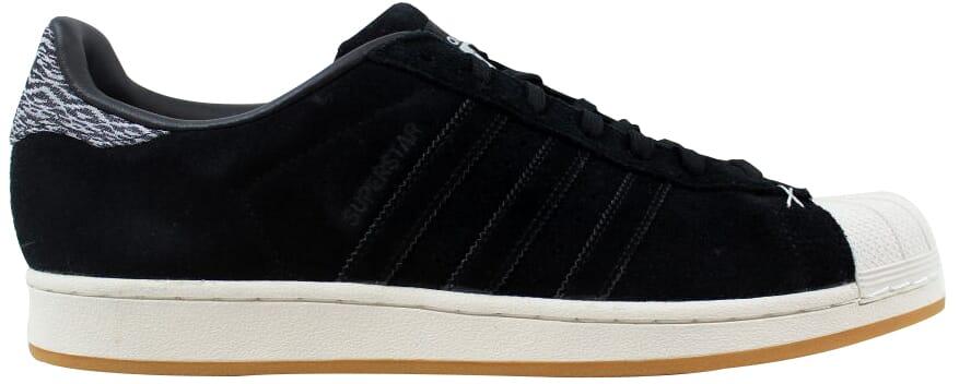 Adidas Superstar BlackBlack White B27737 Men's Size 10