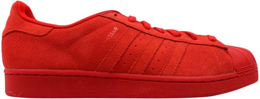 Adidas Superstar RT RedRed S79475 Men's Size 4.5