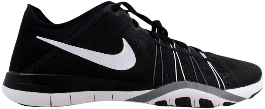 f3a37fb9d431d Nike Free TR 6 Black White-Cool Grey Women s 833413-001 SZ 5