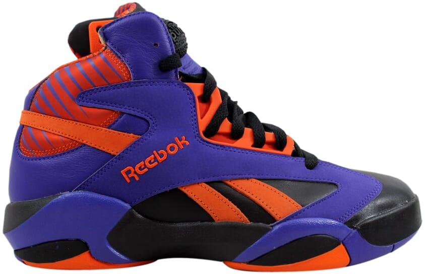 Reebok Shaq Attaq Black Purple-Orange Big Shaqtus V61029 Men s SZ ... 46480f34d