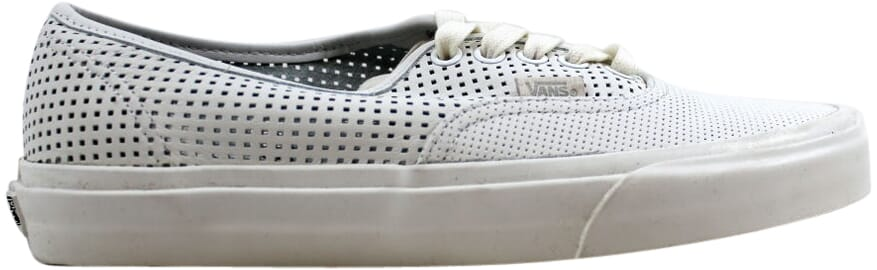 Vans Authentic DX Square Perf White Men s VN0A38ESMSH SZ 4.5  c99fb1697